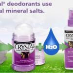 Crystal Body Deodorant из НАТУРАЛЬНОЙ МИНЕРАЛЬНОЙ СОЛИ Ammonium Alum