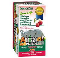 Animal Parade, Children's Multi-Vitamin Cherry Flavor