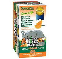 Animal Parade, Children's Multi-Vitamin Orange Flavor iherb