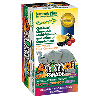 Animal Parade, Children's Multi-Vitamin Assorted Flavors iherb