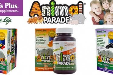 Animal-parade vitaminu iherb