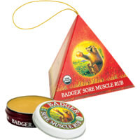 Badger Sore Muscle Rub Ornament Gift iherb