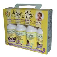 Nature's Baby Organics, Calming Lavender Chamomile Trial iherb