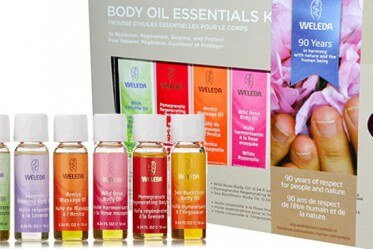 Weleda Body Oils Essential Kit iherb