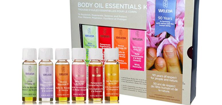 Weleda Body Oils Essential Kit iherb