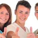 Мультивитамины для подростков от Rainbow Light:  DermaComplex ™,  Мозг и Focus ™