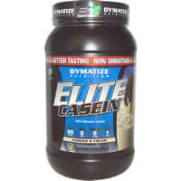 Dymatize Nutrition, Elite Casein, Cookies и крем iherb