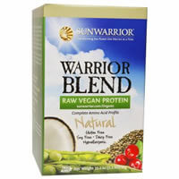 Sun Warrior, Warrior Blend, Raw Vegan Protein, Natural, iherb