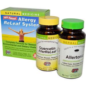 Herbs Etc.,Специальные средства для аллергиков Релиф системы