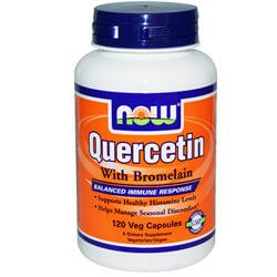 Now Foods, кверцетин с бромелайн, 120 кап. iherb