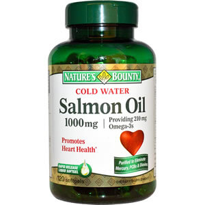 Nature's Bounty, Cold Water Salmon Oil iherb