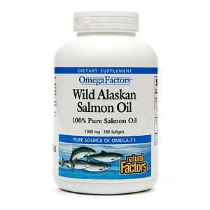 Natural Factors, Alaskan Salmon Oil iherb