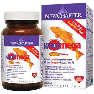 New Chapter, Wholemega, Whole Fish Oil iherb