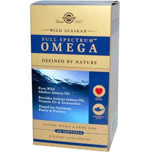 Solgar, Full Spectrum Omega, Wild Alaskan iherb