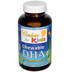 Carlson Labs, Chewable DHA, For Kids iherb