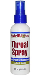 NutriBiotic, Throat Spray