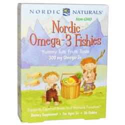Nordic Omega-3 Fishies, Yummy iherb