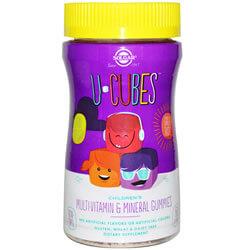 Multivitamin Solgar, U-Cubes, Children's Multi-Vitamin iherb