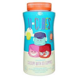 Calcium with Vitamin D Solgar, U-Cubes iherb