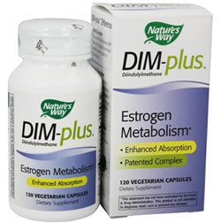 Nature's Way, DIM-plus,метаболизм эстрогенов