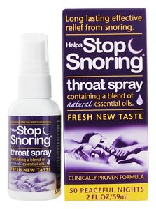 Essential Health Products, Helps Stop Snoring, Throat Spray iherb