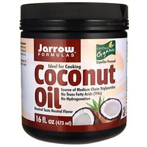 4. Jarrow Formulas, Органическое Кокосовое масло, 454 г