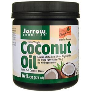 2. Jarrow Formulas, Органическое Кокосовое масло, Нерафинированное, 454 г