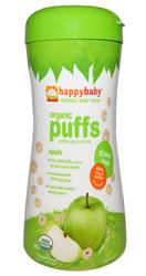urture Inc. Organic Baby Food, Organic Puffs, Apple
