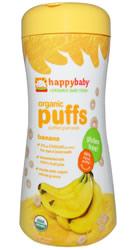 Nurture Inc. Organic Baby Food, Organic Puffs, Banana
