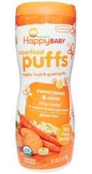 Nurture Inc.  Superfood Puffs, Sweet Potato & Carrot