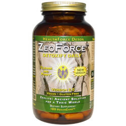 HealthForce Nutritionals, ZeoForce, Detoxify Daily, Version 2.0