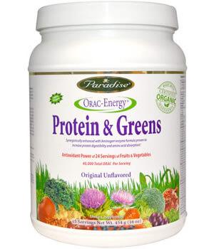 Paradise Травы, ORAC-Energy, Protein & Greens