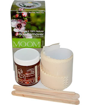 Moom, Organic Hair Remover, with Tea Tree Oil