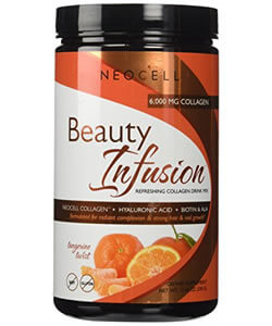 Neocell, Beauty Infusion, Refreshing Collagen Drink Mix,Tangerine Twist