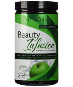 Neocell, Beauty Infusion, Refreshing Collagen Drink Mix, Appletini