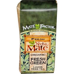 Mate Factor, Organic Yerba Mate, Fresh Green, Loose Herb Tea
