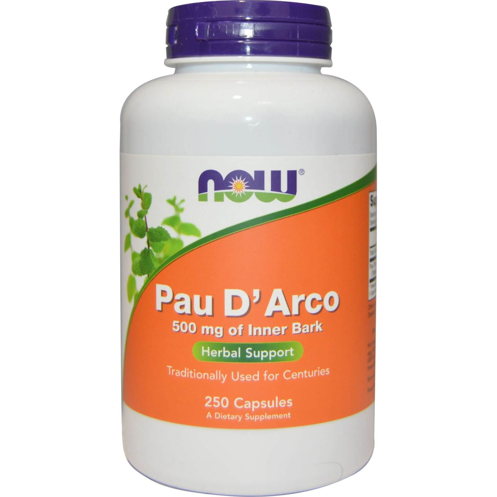 Now Foods, Pau D' Arco, 500 mg