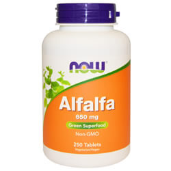 Now Foods, Alfalfa