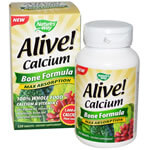 Nature's Way, Alive! Calcium, Bone Formula