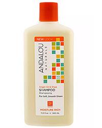 Andalou Naturals, Shampoo, Moisture Rich