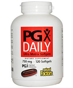 Natural Factors, PGX Daily, Ultra Matrix Softgels