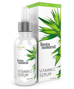 InstaNatural, Vitamin C Serum with Hyaluronic Acid,