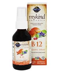 Garden of Life, спрей с витамином B-12