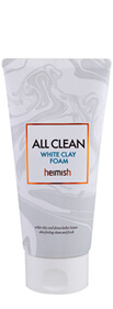 Heimish, All Clean White Clay Foam