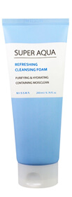 Missha, Super Aqua Refreshing Cleansing Foam