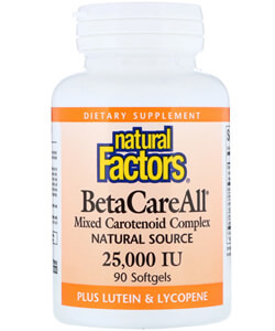 Natural Factors, BetaCareAll plus Lutein