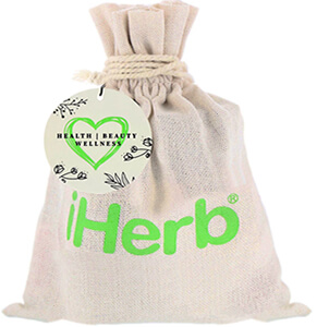 iHerb Goods, Natural Beauty Bag, 8 Pieces