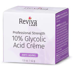 Reviva Labs, 10% Glycolic Acid Cream, Anti-Aging