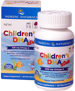 Nordic Naturals, Children's DHA Xtra