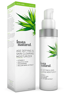 InstaNatural, Age Defying & Skin Clearing Moisturizer